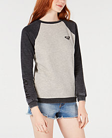 Roxy Juniors' Colorblocked Logo Sweatshirt