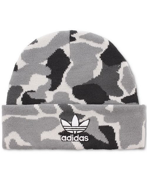 f356b0c488b adidas Men s Originals Camo Beanie   Reviews - Hats