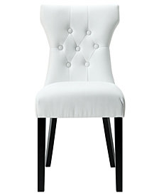 Modway Silhouette Dining Vinyl Side Chair