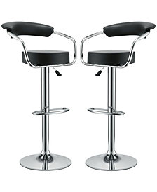 Diner Bar Stool Set of 2