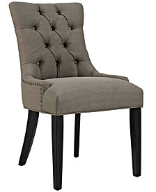 Modway Regent Dining Side Chair Fabric Set of 2