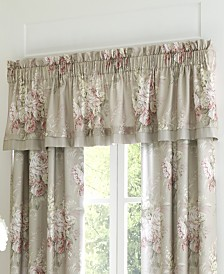 Royal Court Eleanor Natural Straight Valance