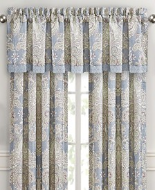 Royal Court Palermo Blue Straight Valance
