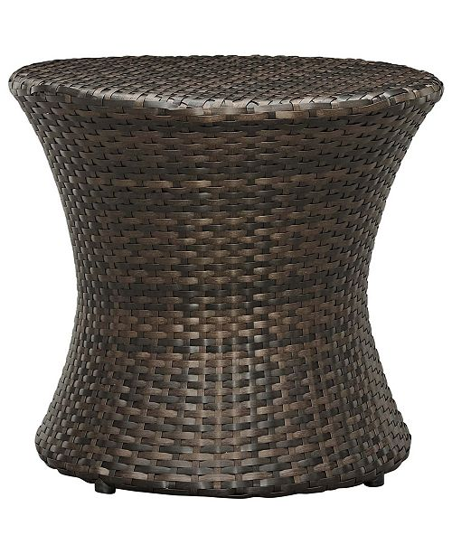 Modway Stage Round Outdoor Patio Side Table Reviews Furniture