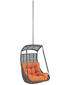 Modway Jungle Outdoor Patio Swing Chair Without Stand
