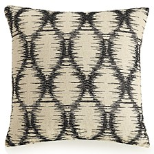 "Embroidered Ogee 16"" Decorative Pillow"