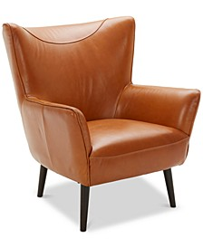 "Penryn 31"" Leather Accent Chair"