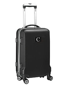 Luggage Carry-On 21-Inch Hardcase Spinner 100% Abs With Letter C