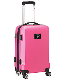 "21"" Carry-On Hardcase Spinner Luggage - 100% ABS With Letter P"