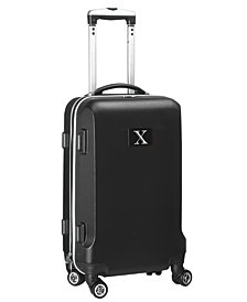 """21"""" Carry-On Hardcase Spinner Luggage - 100% ABS With Letter X"""