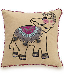 "Vera Bradley 18"" Elephant Pillow"