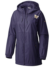 Columbia Women's Washington Huskies Flashback Long Windbreaker