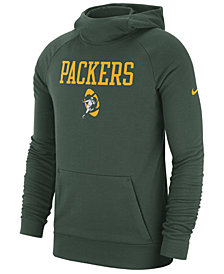 Nike Men's Green Bay Packers Dri-FIT Fashion Hoodie