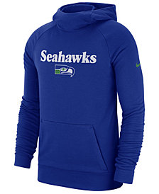 Nike Men's Seattle Seahawks Dri-FIT Fashion Hoodie