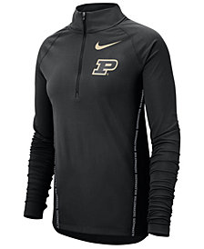 Nike Women's Purdue Boilermakers Element Half-Zip Pullover