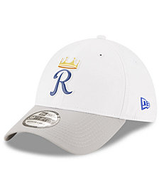 New Era Kansas City Royals White Batting Practice 39THIRTY Cap