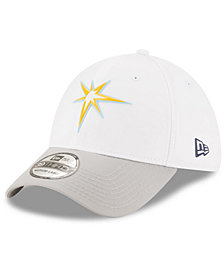 New Era Tampa Bay Rays White Batting Practice 39THIRTY Cap