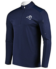 VF Licensed Sports Group Men's Los Angeles Rams Ultra Streak Half-Zip Pullover