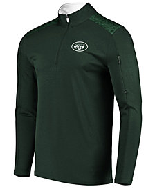 VF Licensed Sports Group Men's New York Jets Ultra Streak Half-Zip Pullover