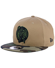 New Era Boston Celtics Camo Tipping 9FIFTY Snapback Cap