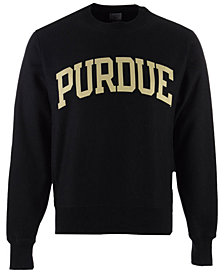 Champion Men's Purdue Boilermakers Reverse Weave Crew Sweatshirt