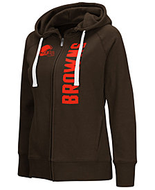 G-III Sports Women's Cleveland Browns 1st Down Hoodie