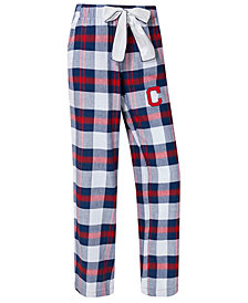College Concepts Women's Cleveland Indians Headway Flannel Pajama Pants