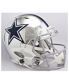 Riddell Dallas Cowboys Speed Chrome Alt Authentic Helmet