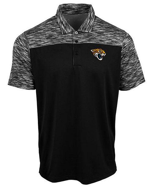 Authentic NFL Apparel Men's Jacksonville Jaguars Final Play Polo