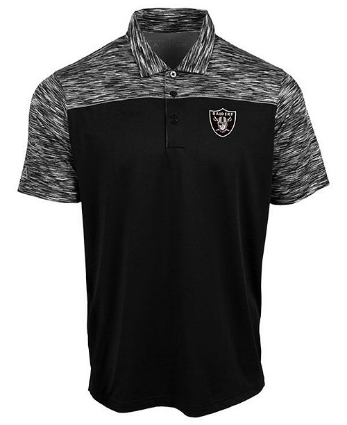 Authentic NFL Apparel Men's Oakland Raiders Final Play Polo
