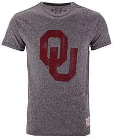 Authentic NCAA Apparel Men's Oklahoma Sooners Big Logo Triblend T-Shirt