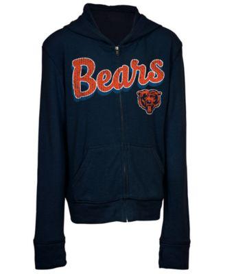 Chicago Bears Sweater Full-Zip Hoodie
