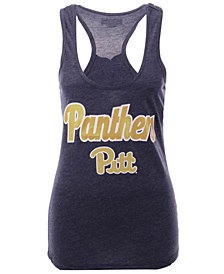 5th & Ocean Women's Pittsburgh Panthers Script Logo Tank