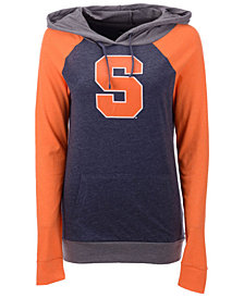 5th & Ocean Women's Syracuse Orange Big Logo Raglan Hooded Sweatshirt