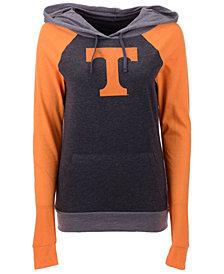 5th & Ocean Women's Tennessee Volunteers Big Logo Raglan Hooded Sweatshirt