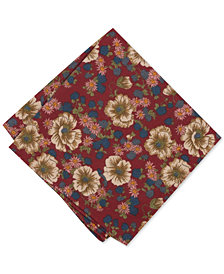 Bar III Men's Robenin Floral Pocket Square, Created for Macy's