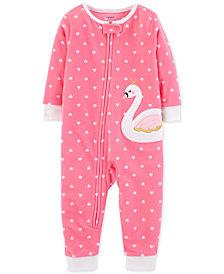 Carter's Toddler Girls Swan Pajamas