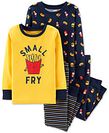 Carter's Toddler Boys 4-Pc. French Fry Cotton Pajamas