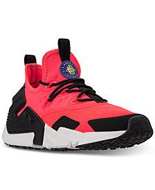 Nike Men's Air Huarache Run Drift Casual Sneakers from Finish Line