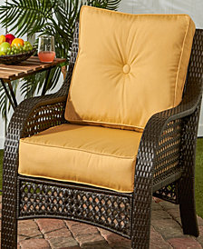Sunbrella Fabric Deep Seat Cushion Set