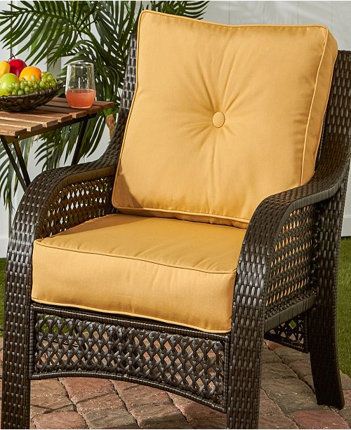 Sunbrella Fabric Deep Seat Cushion Set
