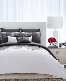 Vince Camuto Lyon King 3 Piece Duvet Set
