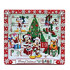 """9.5"""" Mickey Mouse and Friends Advent Calendar"""