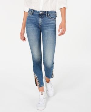 Joe's Jeans ICON EMBELLISHED ANKLE-SLIT JEANS