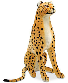 Melissa & Doug Plush Lifelike Giant Cheetah
