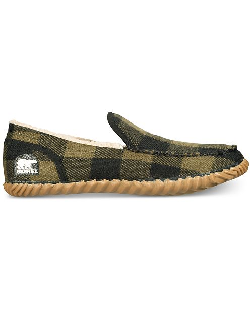 149438c45e8 Sorel Men s Dude Moc-Toe Slippers   Reviews - All Men s Shoes - Men ...