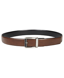 Alfani Men's Compression Reversible Belt, Created for Macy's