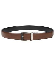 Alfani Men's Compression Reversible Belt, Created for Macy's