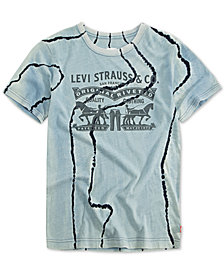 Levis® Big Boys Graphic-Print Cotton T-Shirt