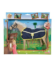 Simba Toys - Champion Light Brown Beauty Horse With Accessories